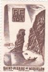 Sellos de America - San Pierre & Miquelon -  PAISAJE