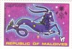 Stamps Maldives -  HOROSCOPO- CAPRICORNIO
