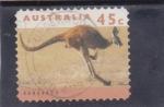 Sellos de Europa - Australia -  CANGURO