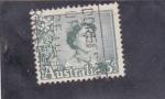 Stamps Australia -  Isabel II