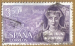 Stamps : Europe : Spain :  Maria Pacheco