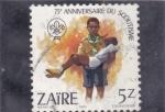 Stamps Republic of the Congo -  75 Aniversario del Scoutismo