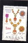 Stamps Angola -  ORDEN MILITAR DE SANTIAGO DE ESPADA