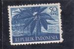 Sellos del Mundo : Asia : Indonesia : KELAPA-COCOTEROS