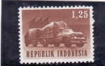 Sellos del Mundo : Asia : Indonesia : TRANSPORTE