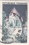 Stamps : Europe : France :  LA TOUR DE CESAR-PROVINS
