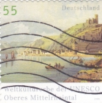 Sellos de Europa - Alemania -  PINTURA-PAISAJE