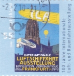 Sellos de Europa - Alemania -  EXPOSICIÓN INTERNACIONAL AERONÁUTICA FRANKFURT
