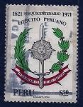 Stamps : America : Peru :  50 Aniv. Ejercito Peruano