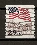 Sellos de America - Estados Unidos -  Monte Rushmore.