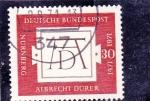 Stamps Germany -  500 ANIVERSARIO DEL NACIMIENTO ALBRECHT DURER