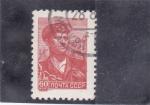 Stamps : Europe : Russia :  OBRERO