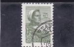 Stamps Russia -  OBRERA