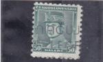Stamps Czechoslovakia -  STEFANIC
