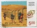 Stamps India -  FUERZA  DE  SEGURIDAD  FRONTERIZA