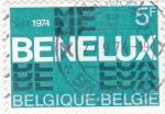 Sellos del Mundo : Europa : Bélgica : BENELUX 30 aniversario unión aduanera