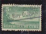 Stamps Cuba -  CORREO AEREO INTERNACIONAL