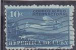 Sellos de America - Cuba -  CORREO AEREO INTERNACIONAL