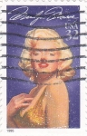 Stamps United States -  MARILYN MONROE