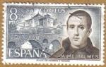 Stamps Spain -  Jaime Balmes