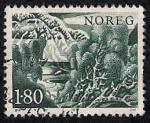 Sellos de Europa - Noruega -  Abedul
