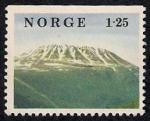 Stamps Norway -  Montaña Gaustatoppen,  Telemark