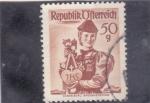 Stamps Austria -  TRAJE REGIONAL