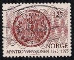 Sellos de Europa - Noruega -  Corona noruega
