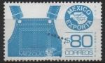 Stamps Mexico -  MÉXICO  EXPORTA  OVEROLES  DE  MEZCLILLA
