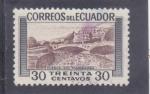 Stamps Ecuador -  CUENCA -RIO TOMEBAMBA