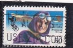 Stamps United States -  HARRIET QUIMBY-PIONERA DE LA AVIACIÓN