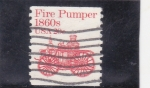 Stamps United States -  VEHICULO A VAPOR