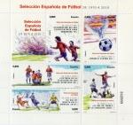 Sellos de Europa - España -  Selección Española de Fútbol de 1970 a 2010.