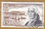 Sellos del Mundo : Europa : España : Jorge Juan