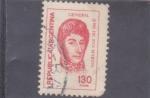 Stamps Argentina -  GENERAL JOSÉ DE SAN MARTIN
