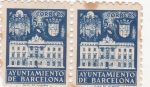Sellos del Mundo : Europa : España :  AYUNTAMIENTO DE BARCELONA (25)
