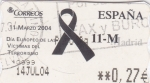 Sellos de Europa - España -  ATM- DÍA EUROPEO DE LAS VICTIMAS DEL TERRORISMO(25)