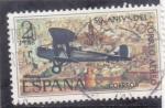 Stamps : Europe : Spain :  50 ANIVERSARIO DEL CORREO AEREO(25)