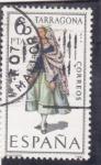 Stamps Spain -  TRAJE REGIONAL-TARRAGONA (25)