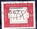 de Europa - Alemania -  541 - V Cent� del nacimiento de Albrecht Durer