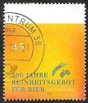 de Europa - Alemania -  500 Aniv� de la ley de pureza de la cerveza