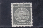 Stamps Germany -  BLASON DE LA D.R.A.