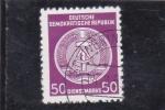 Stamps : Europe : Germany :  BLASON DE LA D.R.A.