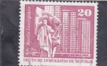 Stamps : Europe : Germany :  BERLIN- PLAZA LENIN