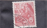 Stamps : Europe : Germany :  BAILE POPULAR