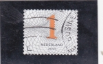 Sellos de Europa - Holanda -  C I F R A S