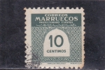 Stamps Morocco -  C I F R A S