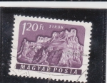 Sellos de Europa - Hungría -  CASTILLO DE SIROK
