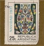 Stamps Argentina -  Navidad