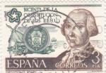 Stamps : Europe : Spain :  Bicentenario de la constitución de los EE.UU (26)